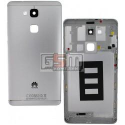 Задняя панель корпуса для Huawei Ascend Mate 7, белая, с боковыми кнопками, без лотка SIM-карты