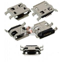 Коннектор зарядки для китайского телефона, универсальный; китайского планшета , тип 9, micro USB