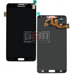 Дисплей для Samsung N900 Note 3, N9000 Note 3, N9005 Note 3, N9006 Note 3, серый, с сенсорным экраном (дисплейный модуль)