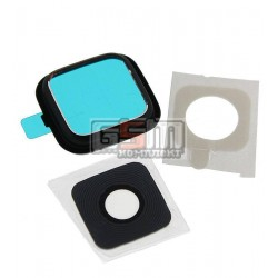 Стекло камеры для Samsung N910HGalaxy Note 4, черное