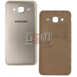 Задняя крышка батареи для Samsung J500H/DS Galaxy J5, золотистая