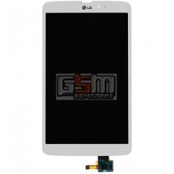 Дисплей для планшета LG G Pad 8.3 V500, белый, с cенсорным экраном