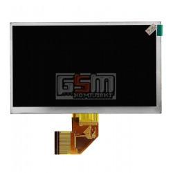 Дисплей для планшета China-Tablet PC 7, (164*97 мм), 50 pin, 7, (1024*600), #K070-B1T50F-FPC-E/YQL-70D201H-V0-P/SL007DC139FPC-V1