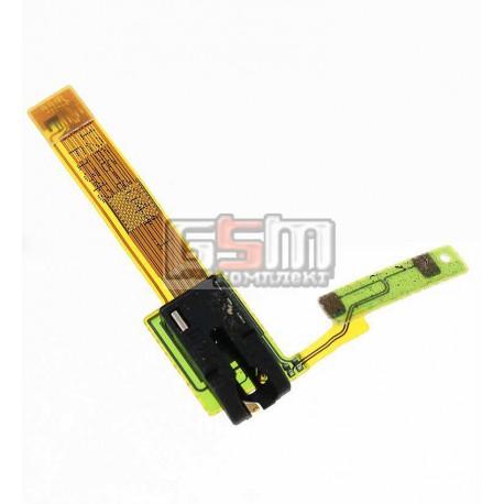 Коннектор handsfree для Sony C5302 M35h Xperia SP, C5303 M35i Xperia SP, со шлейфом