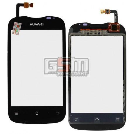 Тачскрин для Huawei U8666 Ascend Y201, черный