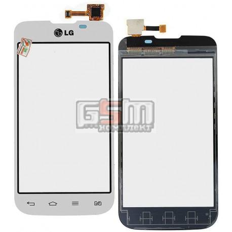 Тачскрин для LG E455 Optimus L5 Dual SIM, белый