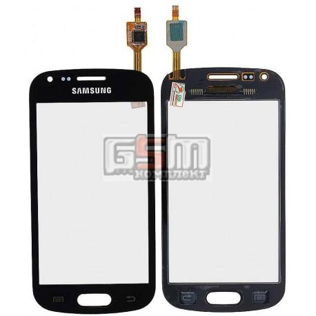 Тачскрин для Samsung S7560, S7562, черный