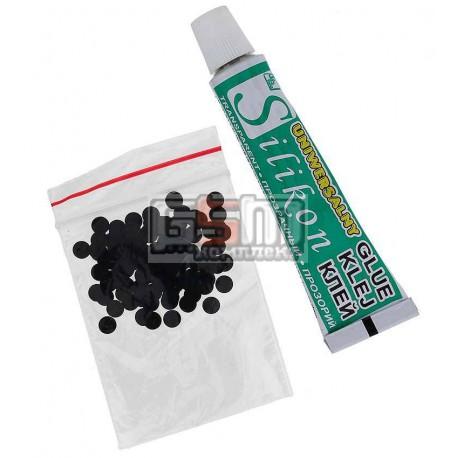 Набор для ремонта пультов (клей и контактные поверхности)