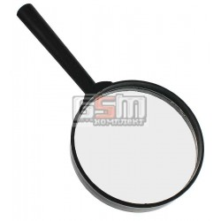 Лупа Glass 8401 диаметр 80мм. увелич. 3-кратное