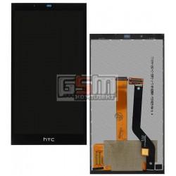Дисплей для HTC Desire 626, черный, с сенсорным экраном (дисплейный модуль)