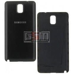 Задня кришка батареї для Samsung N900 Note 3, N9000 Note 3, N9006 Note 3, чорна