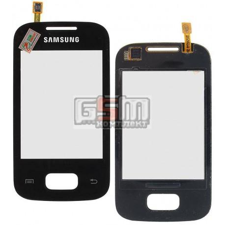 Тачскрин для Samsung S5300 Pocket, S5302 Pocket Duos, черный