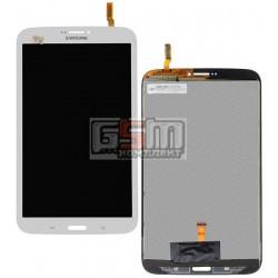 Дисплей для планшету Samsung T310 Galaxy Tab 3 8.0, T3100 Galaxy Tab 3, T311 Galaxy Tab 3 8.0 3G, T3110 Galaxy Tab 3, T315 Galaxy Tab 3 8.0 LTE, (версія 3G), білий, з сенсорним екраном (дисплейний модуль)