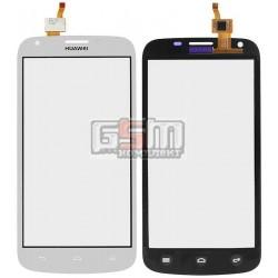 Тачскрин для Huawei Ascend Y600-U20 Dual Sim, белый