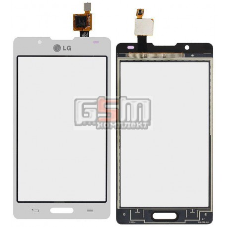 Тачскрин для LG P710 Optimus L7 II, P713 Optimus L7 II, P714 Optimus L7X, белый