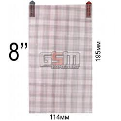 Защитная пленка для китайского планшета, телефона, универсальная, глянцевая, 8.0 (195*114mm)