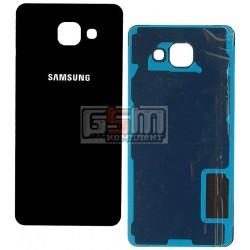 Задняя панель корпуса для Samsung A510F Galaxy A5 (2016), черная