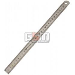 Лінійка вимірювальна металева 300мм