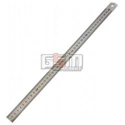 Лінійка вимірювальна металева 400мм