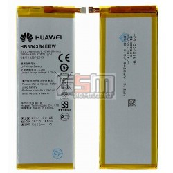 АккумуляторHB3543B4EBWдлямобильного телефона Huawei Ascend P7,(Li-ion3.8V,2460mAh)