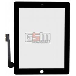 Тачскрин для планшета Apple iPad 3, iPad 4, черный
