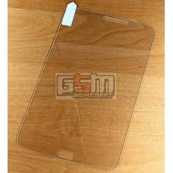 Закаленное защитное стекло для планшетов Samsung P3200 Galaxy Tab3, P3210 Galaxy Tab 3, T210, T2100 Galaxy Tab 3, T2110 Galaxy Tab 3, (версия 3G), 0,26 мм 9H, (без упаковки, без салфеток)