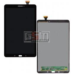 Дисплей для планшету Samsung T560 Galaxy Tab E 9.6, T561 Galaxy Tab E, чорний, з сенсорним екраном (дисплейний модуль)