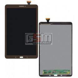Дисплей для планшетов Samsung T560 Galaxy Tab E 9.6, T561 Galaxy Tab E, коричневый, с сенсорным экраном (дисплейный модуль)