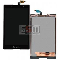 Дисплей для планшета Lenovo Tab 2 A8-50LC, черный, с сенсорным экраном (дисплейный модуль), #TV080WXM-NL0/80WXM7040BZT