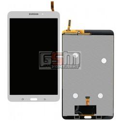 Дисплей для планшета Samsung T330 Galaxy Tab 4 8.0, белый, с сенсорным экраном (дисплейный модуль), (версия Wi-Fi)