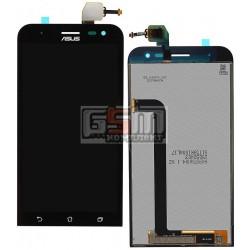 Дисплей для Asus ZenFone 2 Laser (ZE500KG), ZenFone 2 Laser (ZE500KL), черный, с сенсорным экраном (дисплейный модуль)