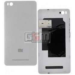 Задняя крышка батареи для Xiaomi Mi4c, белая