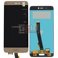 Дисплей для Xiaomi Mi5, золотистый, original (PRC), с сенсорным экраном (дисплейный модуль)