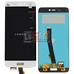 Дисплей для Xiaomi Mi5, белый, original (PRC), с сенсорным экраном (дисплейный модуль)