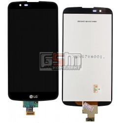 Дисплей для LG K10 K410, K10 K420N, K10 K430DS, K10 K430DSF, K10 K430DSY, черный, original (PRC), с сенсорным экраном (дисплейны