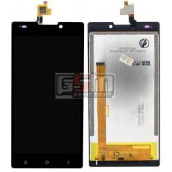 Дисплей для Nomi i508 Energy, черный, original, с сенсорным экраном (дисплейный модуль), #FPC-Y85183 V02/TP304590B-FPCA-V2