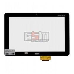 Тачскрин для планшета Acer Iconia Tab A200, черный, #95.1013A50.101
