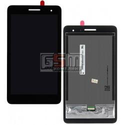 Дисплей для планшета Huawei MediaPad T1 7.0 3G, черный, с сенсорным экраном (дисплейный модуль), #TV070WSM-TH0