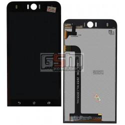 Дисплей для Asus ZenFone 2 Laser (ZE551KL), ZenFone Selfie (ZD551KL), черный, с сенсорным экраном (дисплейный модуль)