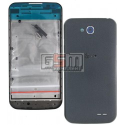 Корпус для LG D410 Optimus L90 Dual SIM, черный