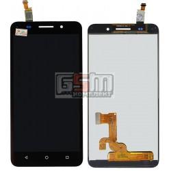 Дисплей для Huawei Honor 4X, черный, с сенсорным экраном (дисплейный модуль)