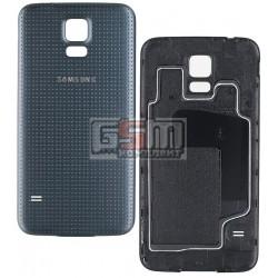Задняя крышка батареи для Samsung G900H Galaxy S5, серая