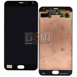 Дисплей для Meizu Pro 5, черный, с сенсорным экраном (дисплейный модуль)