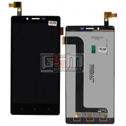 Дисплей для Xiaomi Redmi Note, черный, с сенсорным экраном (дисплейный модуль)