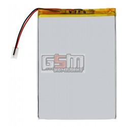 Аккумулятор для китайского планшета, универсальный (130*90*4,0 мм), (Li-ion 3.7V 3000mAh)