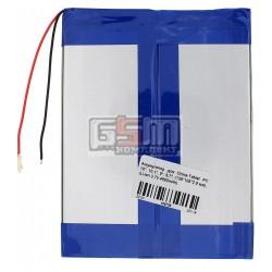 Аккумулятор для китайского планшета, универсальный (138*106*2,9 мм), (Li-ion 3.7V 4800mAh)