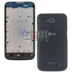 Корпус для LG D325 Optimus L70 Dual SIM, серый