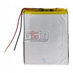 Аккумулятор для китайского планшета, универсальный (100*78*3,6 мм), (Li-ion 3.7V 3000mAh)