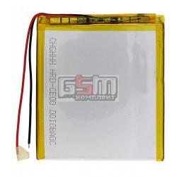 Аккумулятор для китайского планшета, универсальный (86*76*3,8 мм), (Li-ion 3.7V 2100mAh)