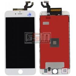 Дисплей для iPhone 6S Plus, белый, original (PRC), с сенсорным экраном (дисплейный модуль), с рамкой
